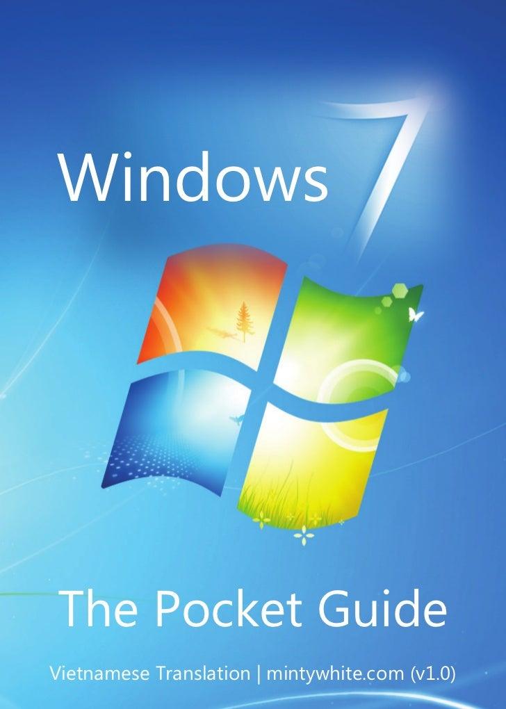 WindowsThe Pocket GuideVietnamese Translation | mintywhite.com (v1.0)