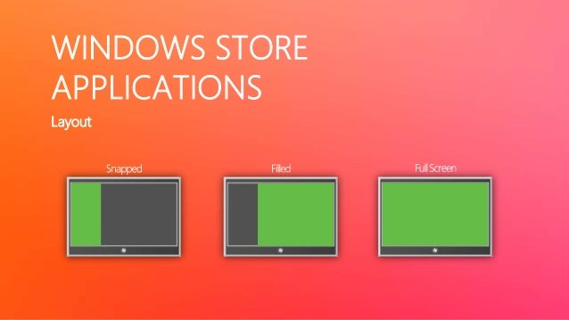 WINDOWS STORE     APPLICATIONS     Application Lifetime                            App gets 5 seconds to work             ...