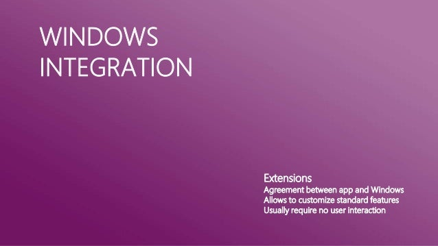 WINDOWS STOREAPPLICATIONSProgramming Alternatives                           C++/CX