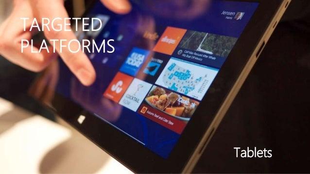 TARGETEDPLATFORMS            Tablets