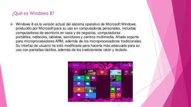 que es windows 8