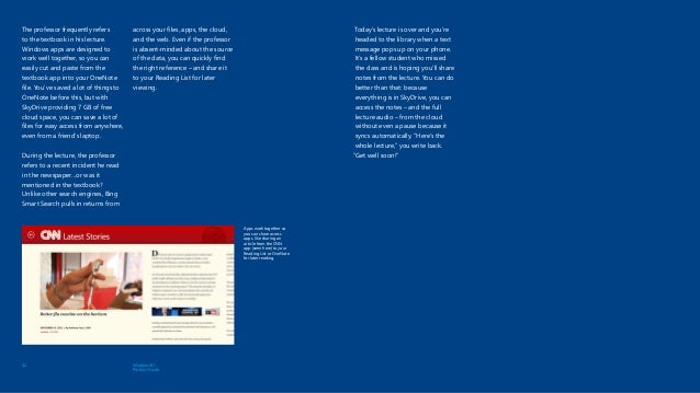 Windows8 1 Product Guide from Microsoft and Atidan