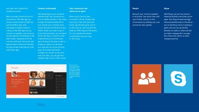 Microsoft Windows 8 1 Product Guide