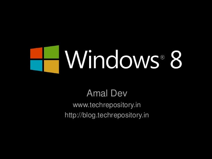 Amal Dev   www.techrepository.inhttp://blog.techrepository.in