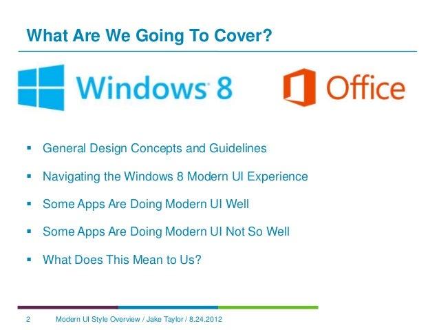 Windows 8 Modern UI Design Concepts Slide 2