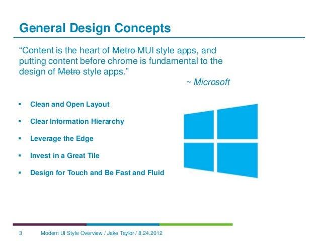 Windows 8 Modern UI Design Concepts Slide 3