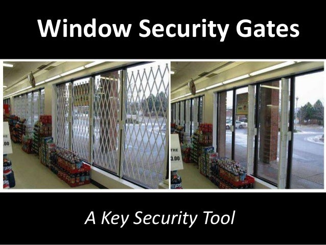 Window Security Gates A Key Security Tool