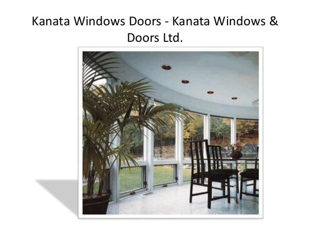 Kanata Doors And Windows - Kanata Windows & Doors Ltd. Slide 2
