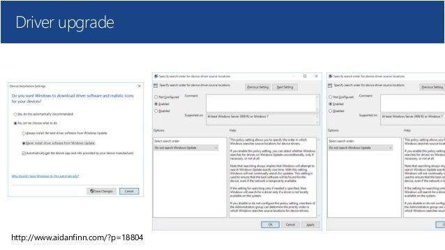Microsoft Windows 10 Bootcamp - Windows as a service