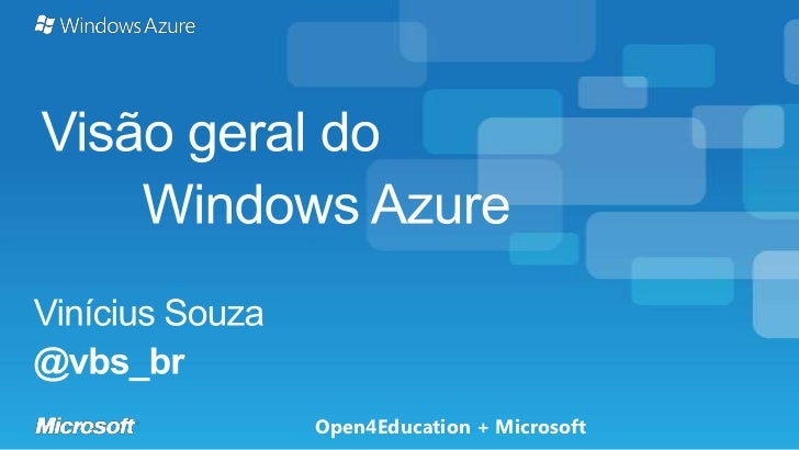 Open4Education + Microsoft