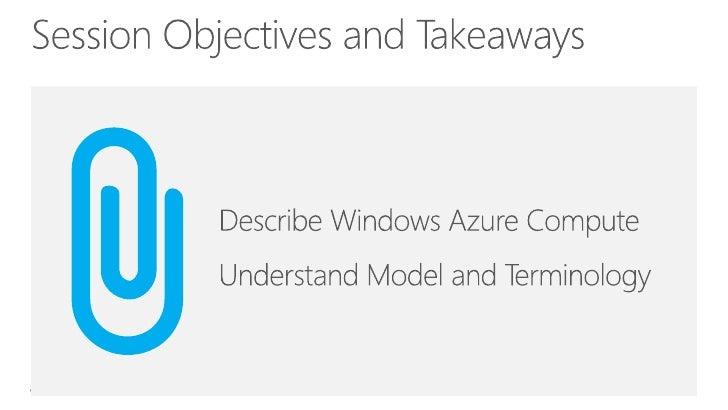 Windows Azure Compute Slide 3