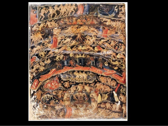 "Dante's Hell Painting illustrated in poetry ""Divine Comedy"" There are 10 doors of hell before heaven !"
