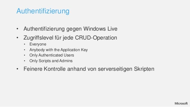 crud application for windows mobile web