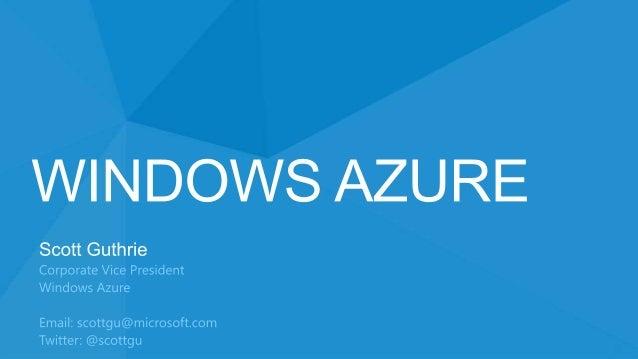 Windows Azure  €£$