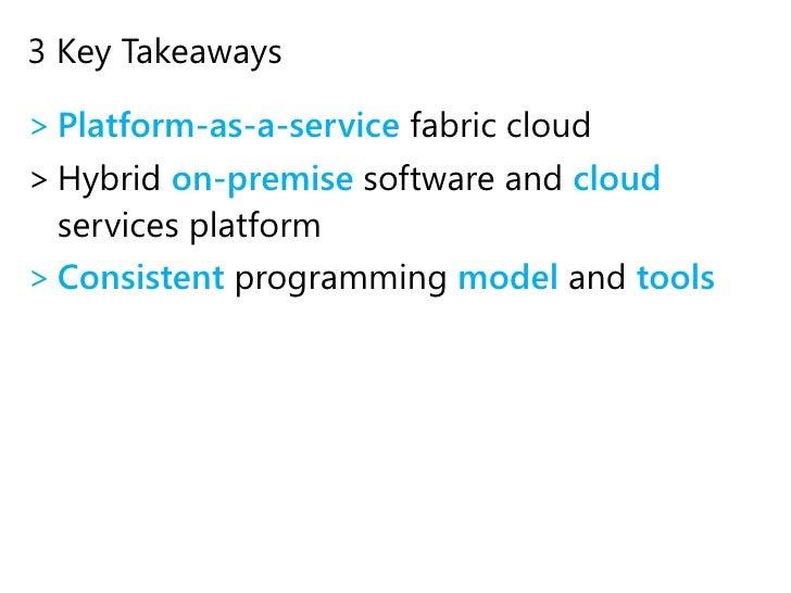 SQL Azure database</li></ul>Benefits<br /><ul><li>~$100,000 savings / year in hosting costs