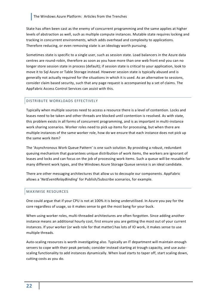 windows azure resume resume ideas