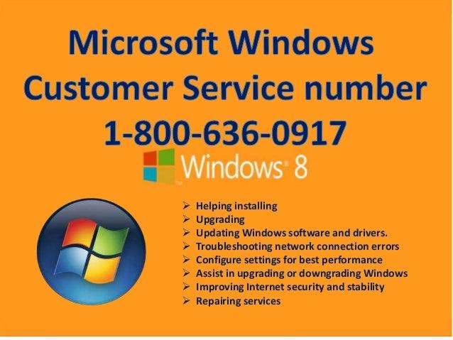 Microsoft Windows Customer Service toll free for 1-800-636-0917 for U…