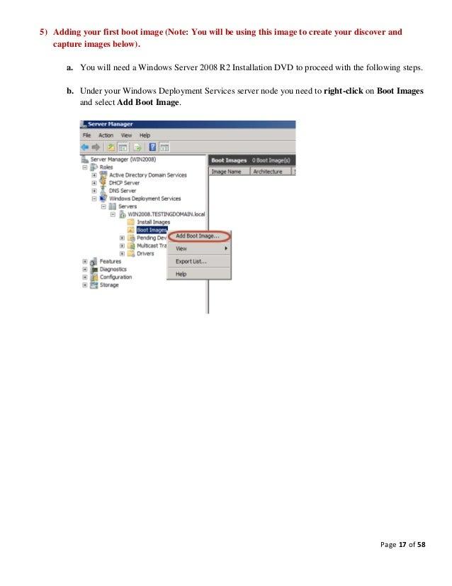 Windows Deployment Services Tutorial