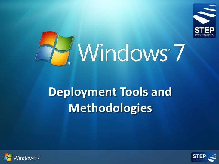 Deployment Tools and Methodologies<br />