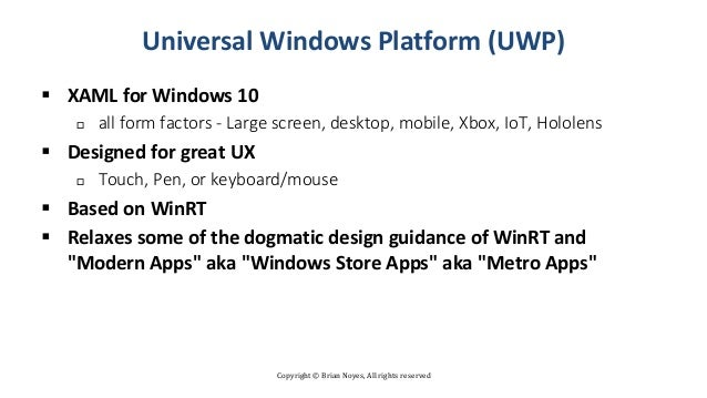 Understanding the Windows Desktop App Development Landscape
