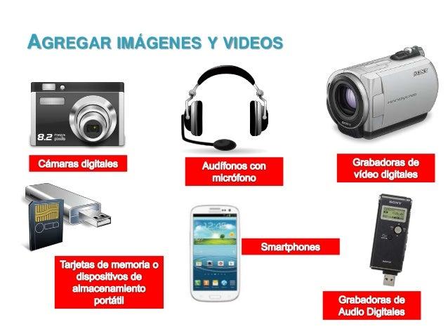 AGREGAR IMÁGENES Y VIDEOS
