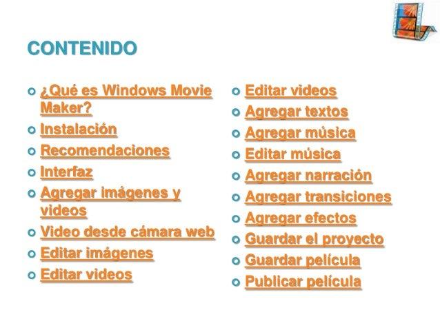 Windows Live Movie Maker Tutorial Slide 2