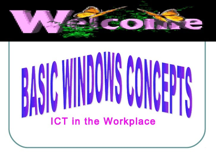 ICT in the Workplace