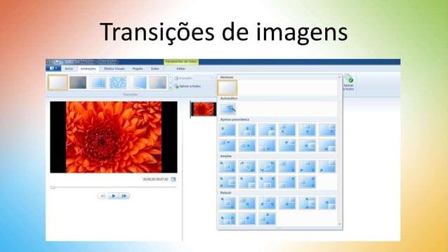 Transições de imagens