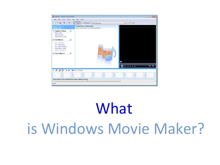how to create a blank slide in windows movie maker