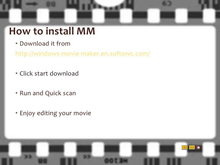 windows movie maker for windows 7 free download full version softonic