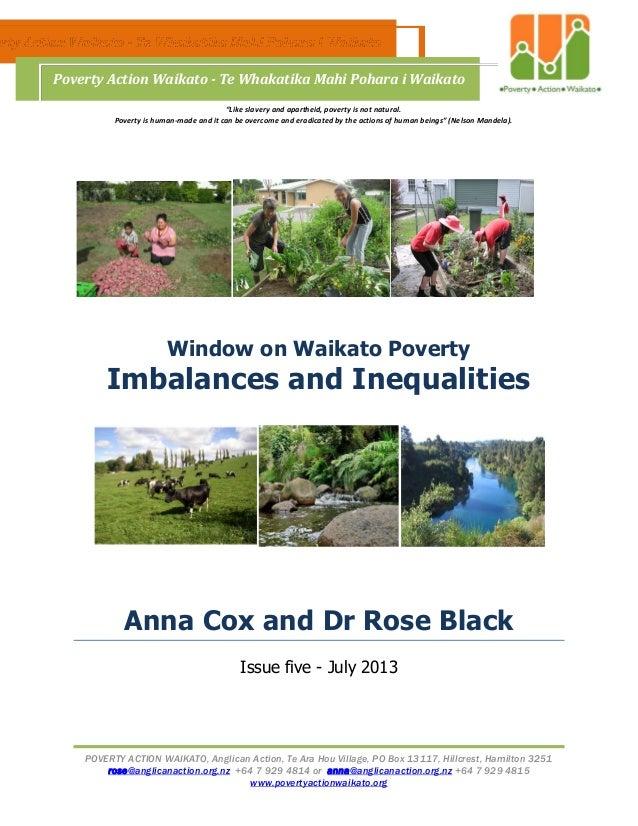 POVERTY ACTION WAIKATO, Anglican Action, Te Ara Hou Village, PO Box 13117, Hillcrest, Hamilton 3251 rose@anglicanaction.or...