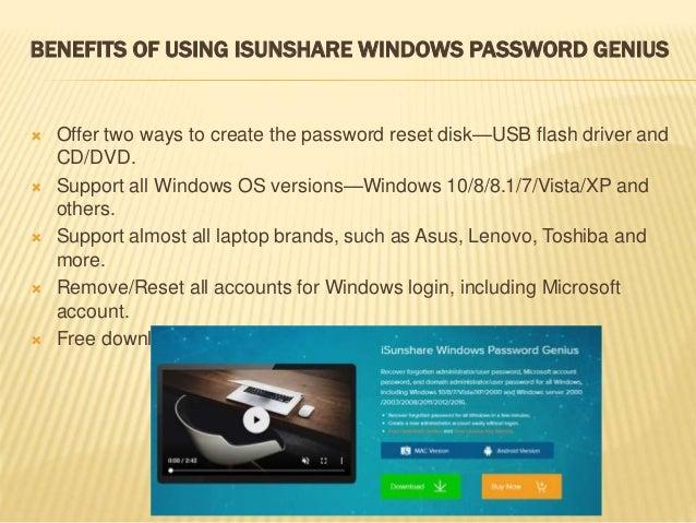 Free Windows Password Recovery Tool