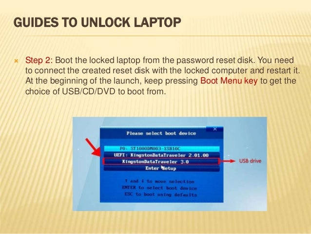 how to unlock a locked computer windows 10