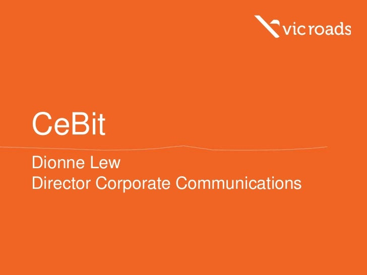 CeBitDionne LewDirector Corporate Communications