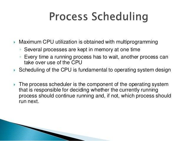 windows process scheduling presentation