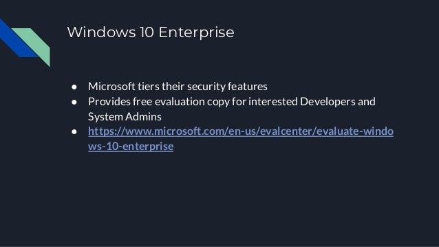 Windows Security Crash Course