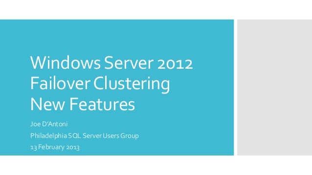 new features of windows server 2012 In this article i would like to share the new things in windows server 2012 that grabbed my particular attention.