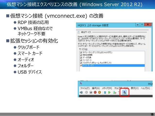 今さら聞けない!Windows server 2012 r2 hyper v入門