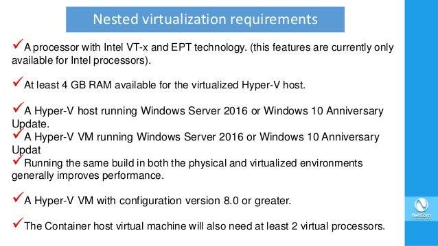 Windows Server 2016 First Look (Part 1)