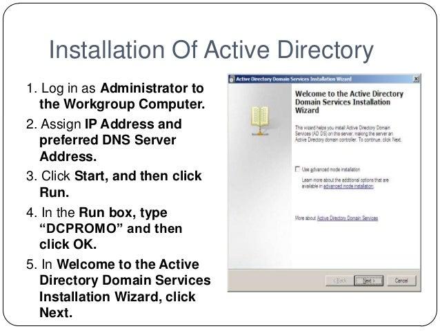 Windows server 2008 active directory - Installer console active directory windows 7 ...