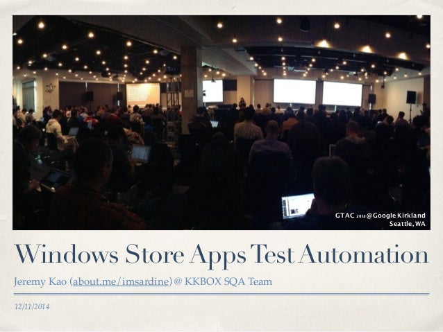 WinAppDriver - Windows Store Apps Test Automation