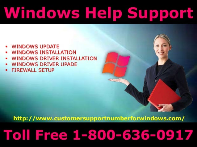 Windows technical support number 18006360917