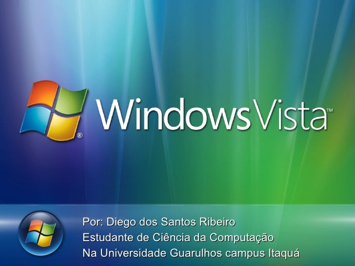 Por: Diego dos Santos Ribeiro Estudante de Ciência da Computação  Na Universidade Guarulhos campus Itaquá
