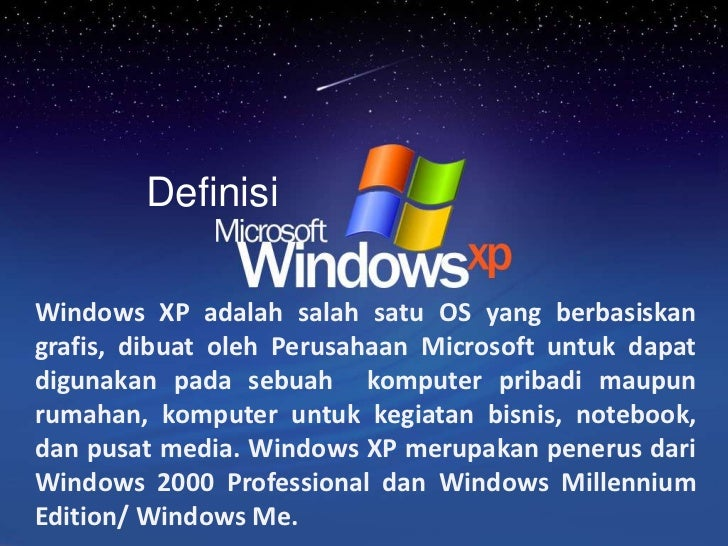what is xp operating system