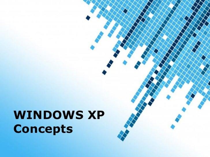 Windows xp concepts om o tc toneelgroepblik Images