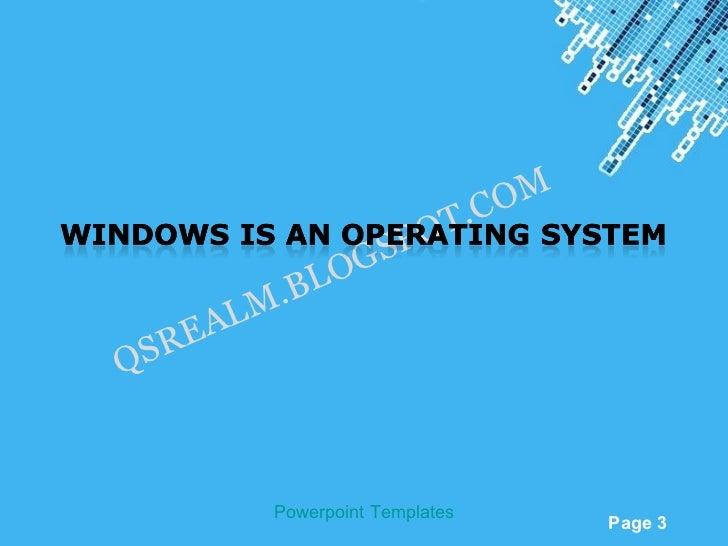 Windows xp concepts b lo a lm reqs powerpoint templates page 3 toneelgroepblik Choice Image