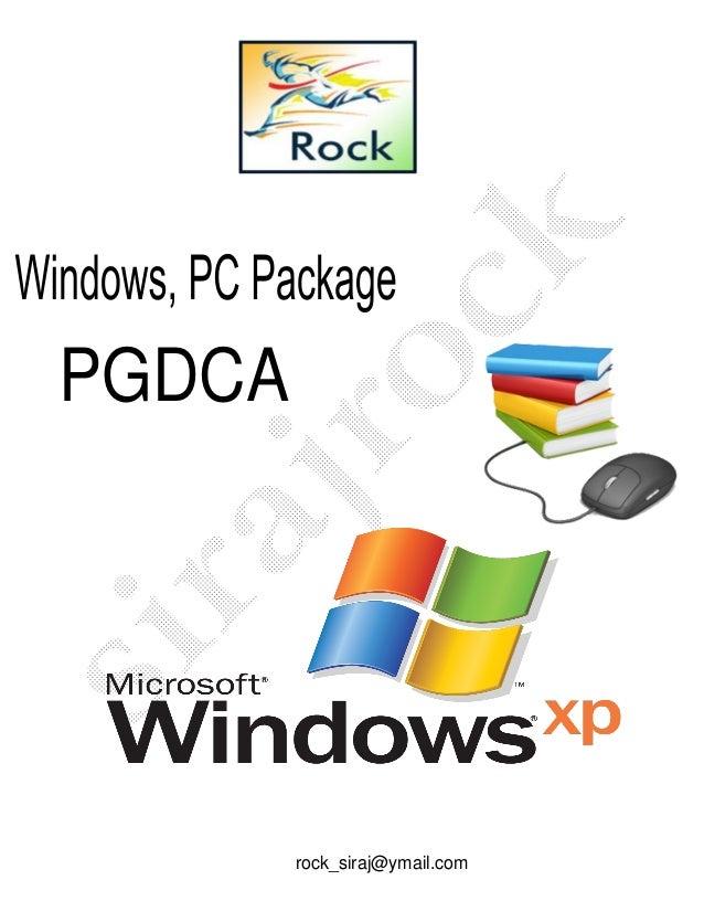 PGDCA rock_siraj@ymail.com