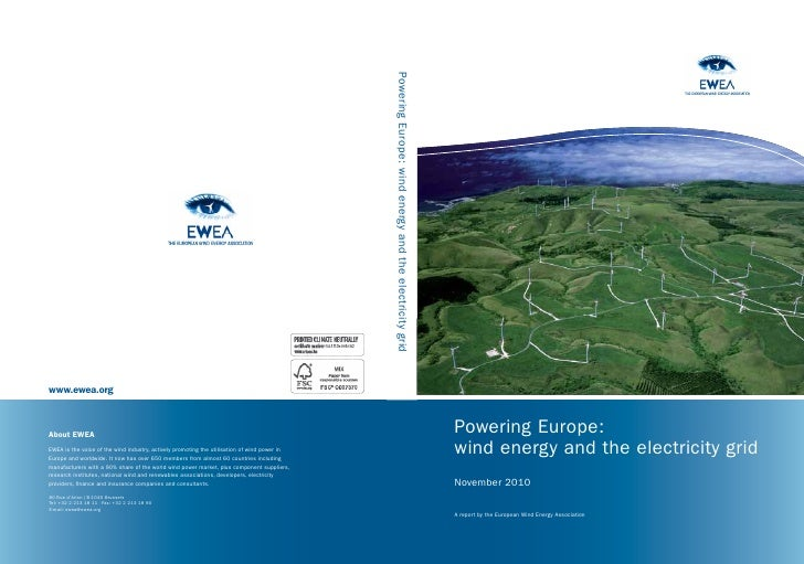 Powering Europe:wind energy and the electricity gridNovember 2010A report by the European Wind Energy Association