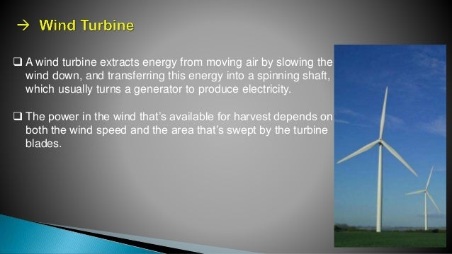 Wind energy technology ppt video online download.