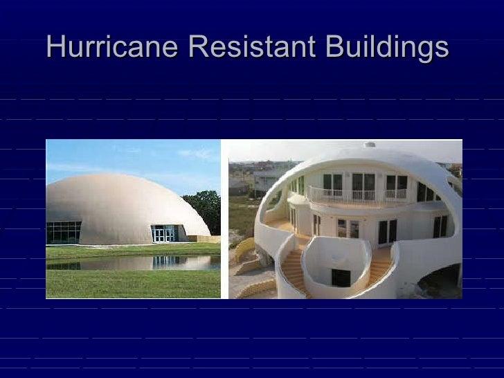 wind resistant structures